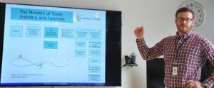 Balıkçılık Bakanlığı Balıkçılık Genel Müdürlüğü'nden Henrik Rye Jakobsen